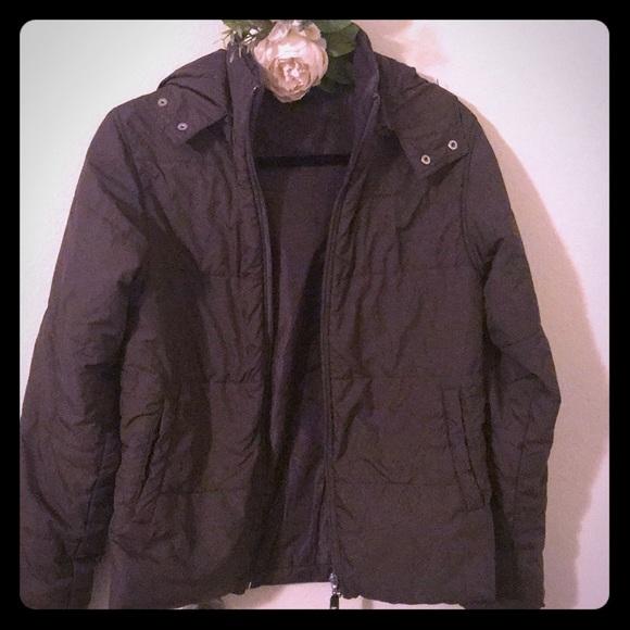2251f99db7395 New Balance Jackets & Coats | Hooded Winter Brown Jacket M Women ...